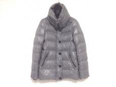 INED(イネド) ダウンジャケット サイズ9 M レディース グレー 冬物