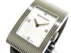 BOUCHERON(ブシュロン) リフレ/レディース/4Pダイヤ 腕時計 買取実績