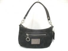 COACH(コーチ)のポピーシグネチャーサティーングルービーのハンドバッグ
