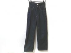 グラフペーパーのジーンズ