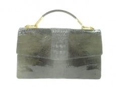 クロコダイルスキンのハンドバッグ