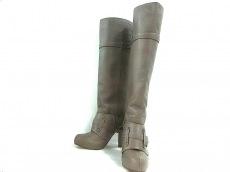 バーバリーブルーレーベルのブーツ
