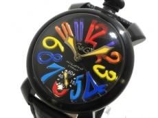 GAGA MILANO(ガガミラノ) マヌアーレ/メンズ/革ベルト/手巻き 腕時計 買取実績