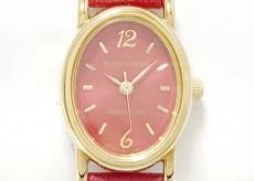 ブルーレーベルクレストブリッジの腕時計