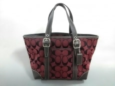 COACH(コーチ)のシグネチャー マーケット スモールトートバッグのハンドバッグ