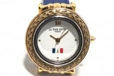 la tour eiffel(ラトゥールエッフェル)の腕時計