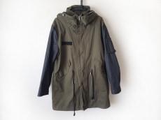 ハリスブラウンのコート