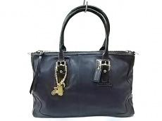 COACH(コーチ)のハンプトンズレザーサッチェルのハンドバッグ