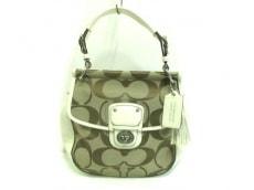 COACH(コーチ)のポピー シグネチャー ニュー ウィリスのハンドバッグ