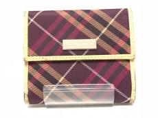 バーバリーブルーレーベルの3つ折り財布