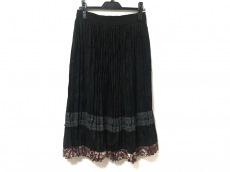 コーチのPleated Jacquard Skirt(プリーツジャガードスカート)