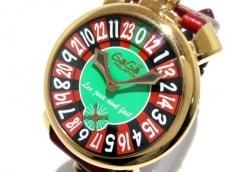 GAGA MILANO(ガガミラノ) マヌアーレ48 ラスベガス/5011.LV.01S 腕時計 買取実績