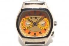 スーパーハッカの腕時計