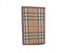 バーバリーロンドンの手帳