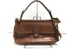 COACH(コーチ)のレザー シティ ウィリスのハンドバッグ