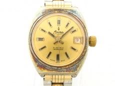 アロマの腕時計