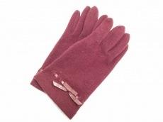 7f016e280642 FURLA(フルラ) 手袋 レディース ハート ウール×ナイロン(9987310)中古 ...