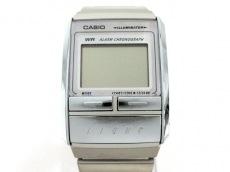 d71e7b3ac9 CASIO(カシオ) 腕時計美品 A200 メンズ ライトベージュ×白