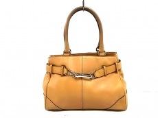 COACH(コーチ)のハンプトンズレザー キャリーオールのハンドバッグ