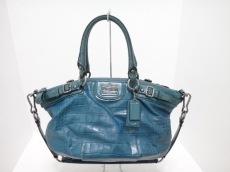 COACH(コーチ)のマディソンエンボスクロコレザーソフィアのハンドバッグ