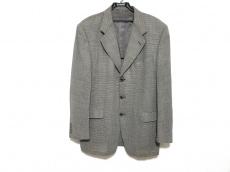 8d70992fe15c CELINE(セリーヌ) ジャケット サイズ50 XL メンズ 黒×グレー