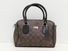 COACH(コーチ)のシグネチャー ミニ ベネット サッチェルのハンドバッグ