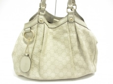 5109be1a7881 GUCCI(グッチ) Wホック財布 - 212105 白 レザー(13677324)中古 ...