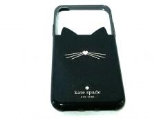 Kate spade(ケイトスペード)のアイフォンケース ジュエル グリッター キャット ‐ X&XS