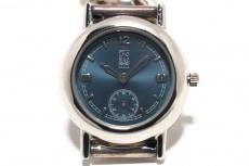 クリオブルーの腕時計