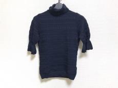 バレンチノ 半袖セーター レディース美品  ダークネイビー