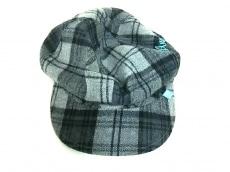 エンジェルブルーの帽子