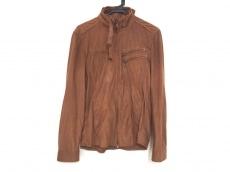 トルネードマート ライダースジャケット サイズL メンズ ブラウン