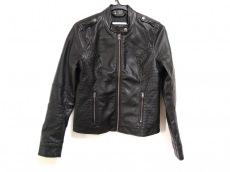 fc8d5f22ed2c Hollister(ホリスター) ライダースジャケット レディース美品 黒