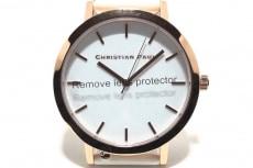 クリスチャンポールの腕時計