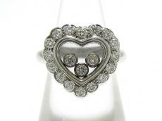 Chopard(ショパール)のハッピーダイヤモンドハートリング