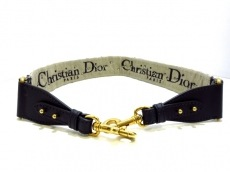 ChristianDior(クリスチャンディオール)の刺繍入り ストラップ ディオール オブリーク