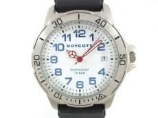 ボイコットの腕時計