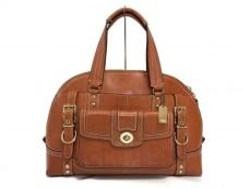 COACH(コーチ)のレザー ビンテージ サッチェルのハンドバッグ