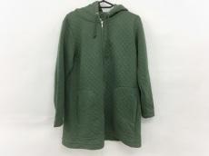ニコアンド コート サイズ3 L レディース美品  グリーン