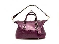 COACH(コーチ)のアシュレイ パーフォレイテッド レザーサッチェルのハンドバッグ