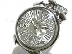 GAGA MILANO(ガガミラノ) マヌアーレ46/メンズ/クォーツ 腕時計 買取実績