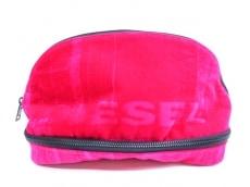 ディーゼル クラッチバッグ NEW D-EASYL X05969 P1788 ピンク×黒