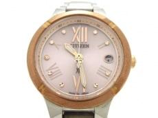 CITIZEN(シチズン) 腕時計 H058-T020259 レディース ピンク