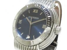 BOUCHERON(ブシュロン) ソリス/メンズ/SS/パイソンベルト 腕時計 買取実績