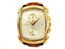 オロビアンコ 腕時計 レッタンゴラ クロノ OR-0023 メンズ ゴールド