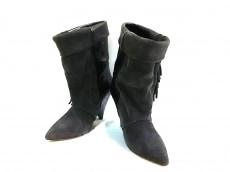 エイチアンドエム×イザベルマランのブーツ