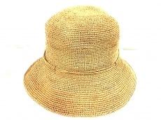 HELEN KAMINSKI(ヘレンカミンスキー) 帽子 ベージュ ラフィア