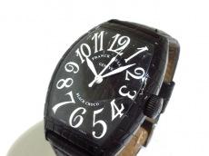FRANCK MULLER(フランクミュラー) トノーカーベックス ブラッククロコ/8880SCBLKCRO 腕時計 買取実績
