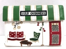 LULUGUINNESS(ルルギネス)の3つ折り財布