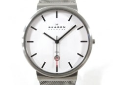 SKAGEN(スカーゲン) 腕時計美品  SKW6052 レディース 白